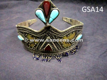 afghan dynasty crowns, asian royal headdress