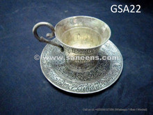 afghan silver antique tea set