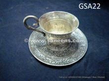 afghan silver antique tea set