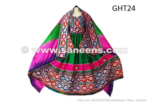 Beautiful Long Gown Afghan dress