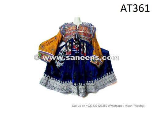 afghan kuchi coins work tribal clothes