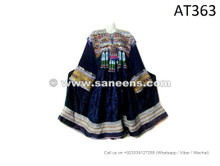 afghan kuchi tribal ethnic coins frocks