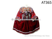 afghan kuchi ethnic frocks with coins work