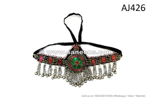 afghan kuchi handmade headdresses