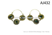 afghan kuchi jewellery earrings