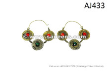 afghan kuchi pashtun earrings