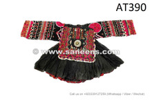 afghan ethnic clothes with silk embroidery work