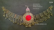 kuchi jewellery, pathani bridal headdress