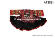 afghan pashtun women handmade pure silk work dress