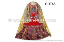 Afghan Mirror Work Dress