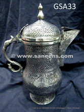 tribal artwork fancy engraved pot