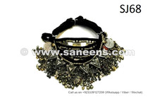 afghan jewellery, tribal artwork necklaces