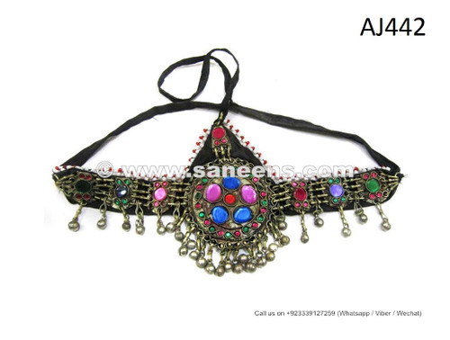 afghan jewelry headdress