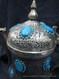 afghan feroza gemstones water pot