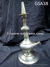 hand engraved antique afghan shisha smoking pipe
