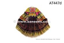 Afghan Nomad Handmade Costume Tribal Ethnic Frock Autumn Leaves Dress