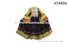 Tribal Fashion Vintage Frock Afghani Women Long Dress Asian Ethnic Garments