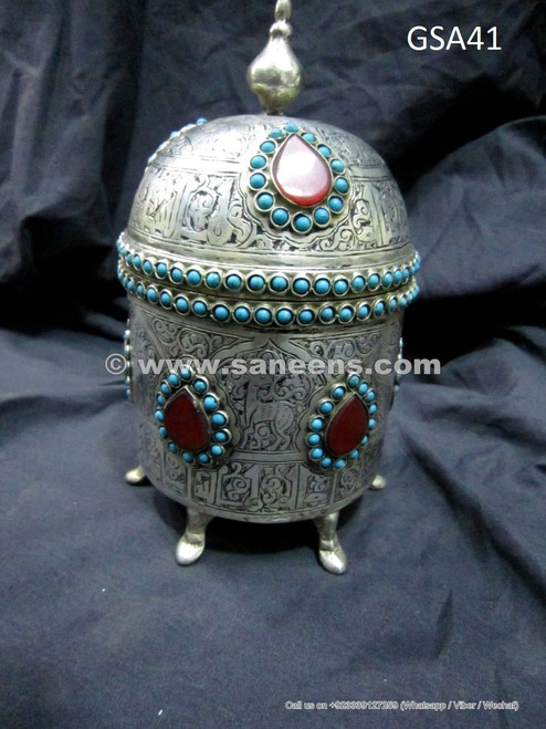 ancient afghan antique box