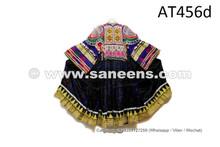 Afghan Kuchi Handmade Coin Dress Finest Tribal Art Embroidered Frock