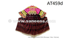 Asian Gypsy Women Hand Embroidered Costume Afghan Kuchi Tribal Vintage Frock