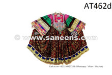 Asian Gypsies Women Vintage Frock Kuchi Banjara Dress Afghan Pashtun Costume