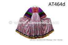 ATS Fusion Dance Dress Tribal Ethnic Frock With Sequin Work Nomadic Costume