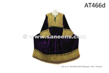 Nomadic Costume In Dark Purple Color Kuchi Fashion Vintage Frock