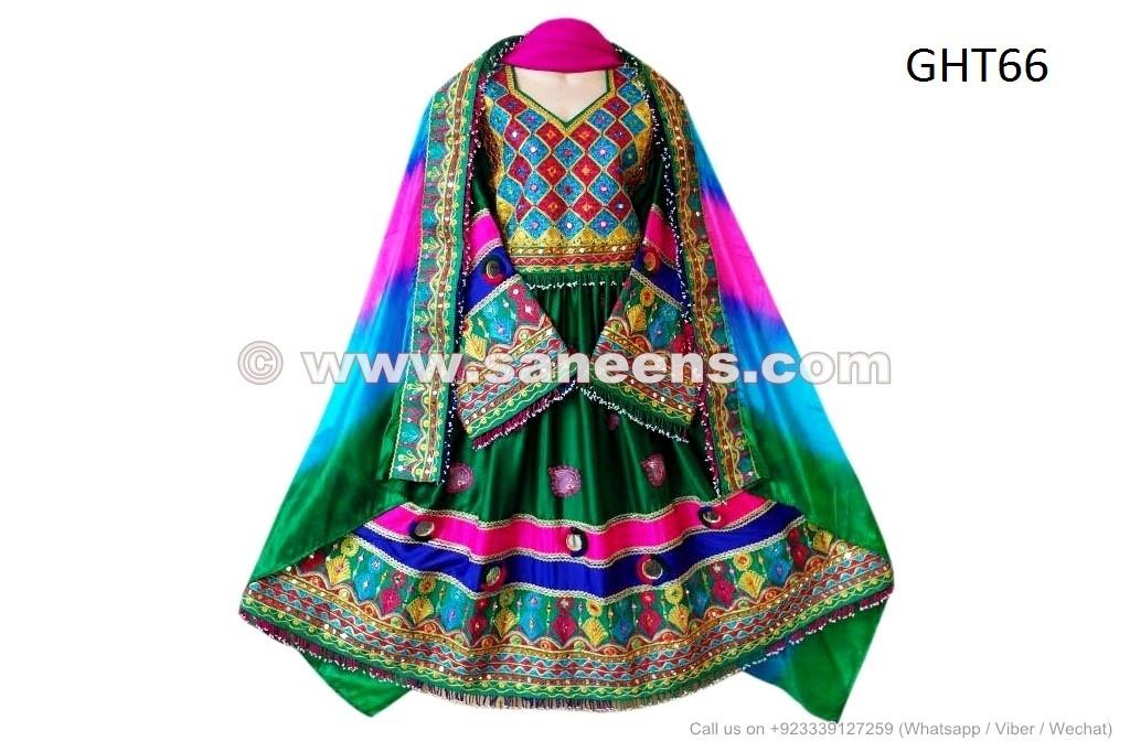 Buy New Design Kuchi Wedding Dress Afghan Nikah Frock 3 Piece Ladies Suit Saneens Online Store