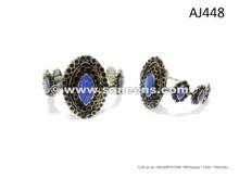 New Design Afghan Kuchi Bangles Tribal Art Bellydance Jewelry Bracelets In Lapis