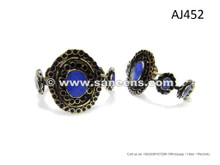 Namad Fashion Handmade Bangles Kuchi Fashion Bracelets Berber Lapis Jewellery