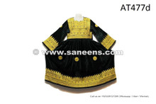 Afghan Nomadic Ethnic Frock Kuchi Tribal Handmade Dress Gypsy Fusion Attire