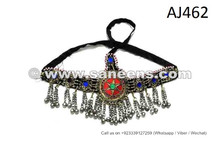 Tribal Star Headdress Oriental Dance Handmade Kuchi Jewellery
