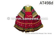 Vintage Gypsy Banjara Frock Handmade Tribal Fusion Dress