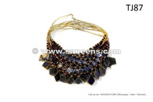 Bohemian Style Afghan Necklaces Folklore Bellydance Wholesale 10 Necklaces Lot