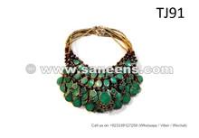 New Design Bellydance Jewelry Necklaces Gypsy Tribal Fusion Random 10 Necklaces