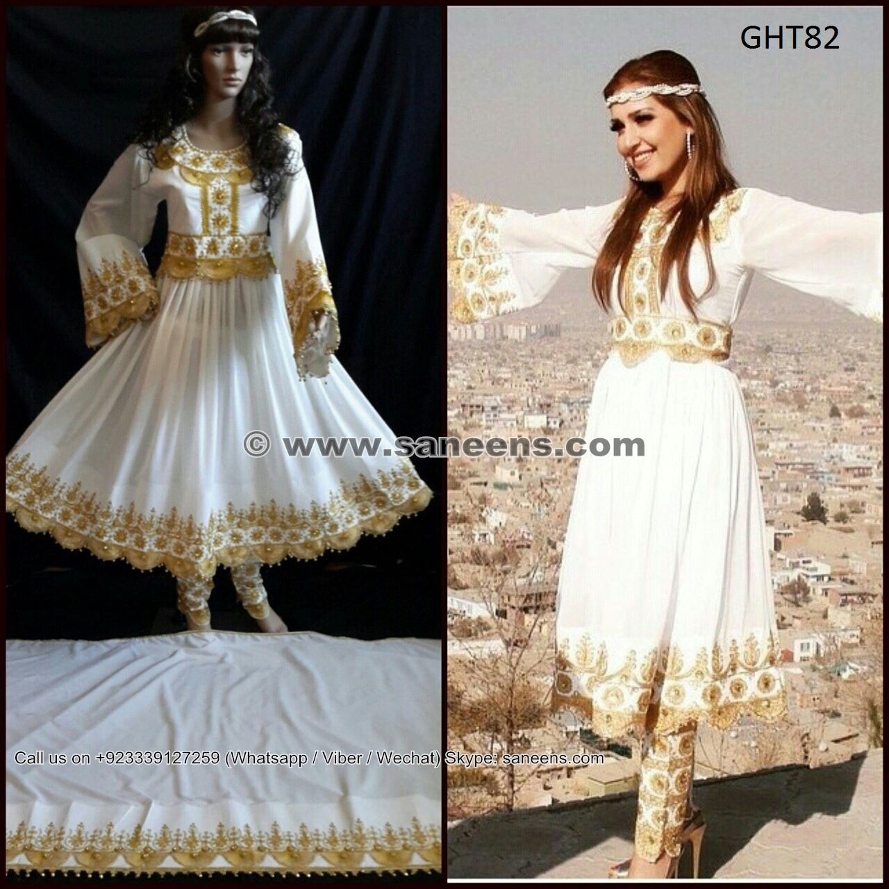 Afghan Wedding Gowns: Latest Fashion Afghan Dress Kuchi Tribes Bridal Clothes