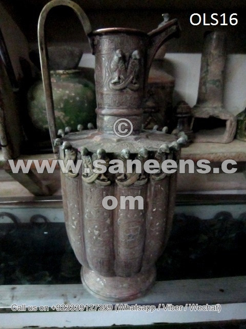 handmade ancient afghan water pot