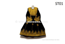 Afghanistan Kuchi Vintage Dress Nomad Tribal Ethnic Clothes Handmade Gypsy Frock