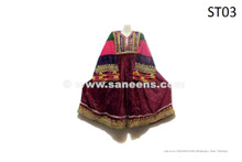 Nomad Women Vintage Dress Handmade Tribal Ethnic Frock
