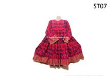 Nomad Boho Chic Dress Tribal Fusion Vintage Frock Afghan Floral Costume Online