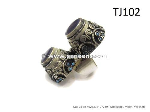 afghan fashion new ring