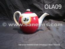 russian tribal artwork tea pot, chinese handmade tea pot with beautiful artwork