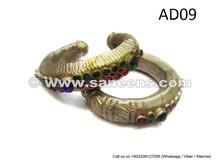 afghan kuchi bracelets, tribal nomad handmade bangles