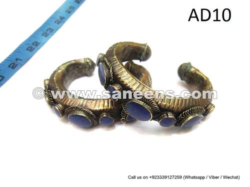 afghan kuchi bracelets, handmade tribal cuffs online