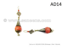 afghan kuchi earrings, wholesale fat chance bellydance performers jewelry