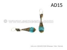 afghan kuchi tribal earrings, fat chance bellydance performance