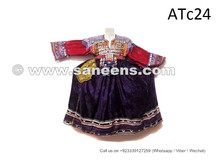 balochi coins dress, kuchi silk work frocks wholesale