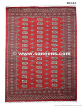 Traditional Persian Artwork Bokhara Rug Handmade Pakistan Rugs Store Online