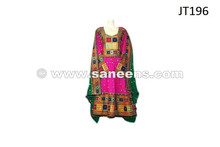 afghan dress in pink color, wholesale afghan clothes in low price