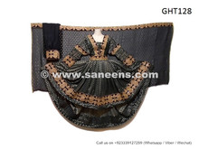 afghan dress gown in high low design